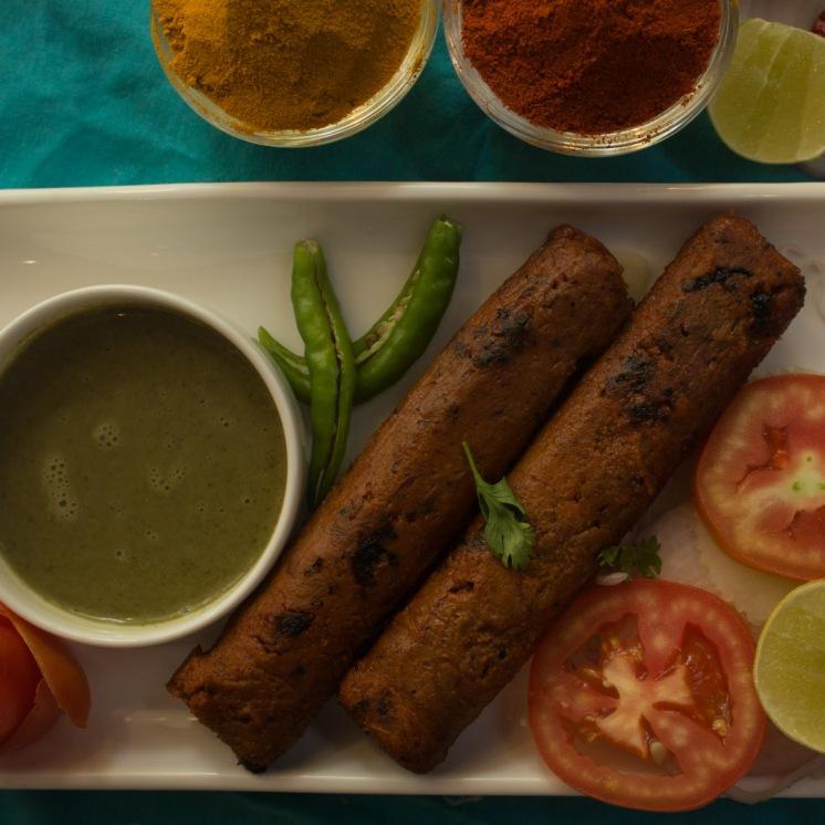 Scrumptious Seekh Kebab